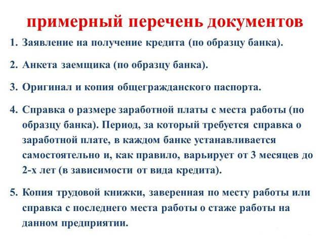 perechen-dokumentov-dlja-poluchenija-zajma