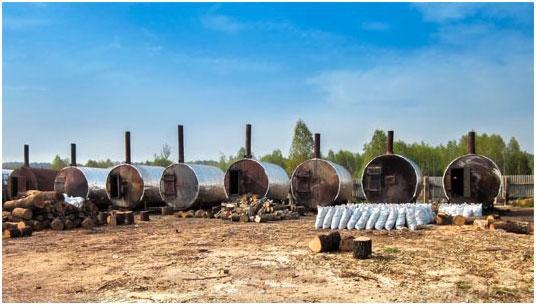 Proizvodstvo-drevesnogo-uglya-tehnologiya
