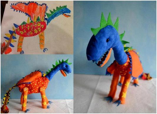 igrushki-po-detskim-risunkam-drakon