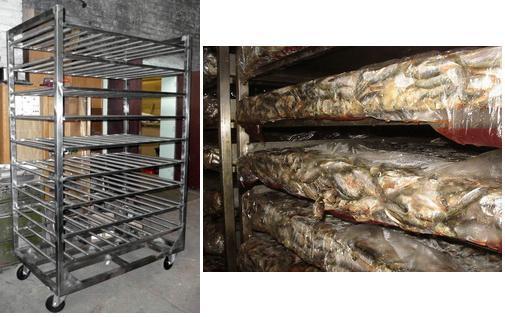 Оборудование для разморозки рыбы